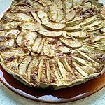 recette tarte aux pommes crème mascarpone noix de coco