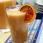 recette Smoothie orange- banane- citron- miel et yaourt nature