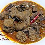 recette KAMOUNIA OU CAMOUNIA- FOIE DE VEAU EN SAUCE AU CUMIN