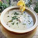 recette JARI ABYAD- SOUPE BLANCHE ( CHORBA BEIDA )