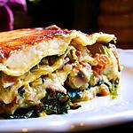 recette Lasagne de saison, sauce Mornay