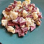 recette salade de pommes de terre a la langue de porc en gelée