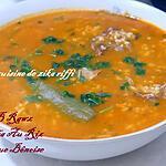 recette Jéri ou jari b rawz- Chorba au riz typique et exclusive au terroir bônois