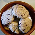 recette cookies chocolat/caramel (prépa 10 mns) vrai plaisir creatif