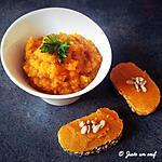 recette Tartinade de carottes
