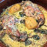 recette Cuisses de lapin au four aux morilles