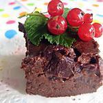 recette Fondant au chocolat et aux cerises