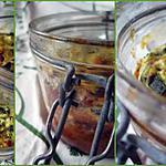 Terrine de courgettes,  à la feta et aux  herbes