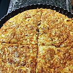 recette Quiche sans pâte au reste de poulet