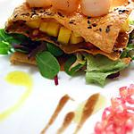 recette Millefeuille du Mekong (tartare de mangue en millefeuille)
