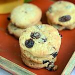 recette Biscuits au vin blanc et raisins secs