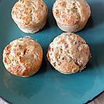 recette petit clafoutis thon fromage échalotte ciboulette