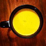 recette Lait d'or (golden milk)