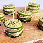 recette Burger frais de concombre