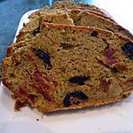 recette Cake pesto-olives-tomates séchées