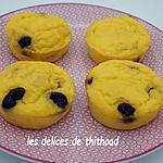 recette gâteaux de floraline aux cranberries