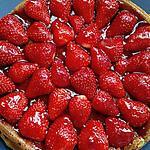 recette gateau vanille fraises