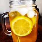 recette Thé glacé aux citrons vert et gingembre