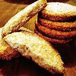 recette Biscuits à la coco de Martha Stewart sans beurre ni œufs