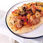 recette Poulet au paprika et à la menthe