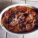 recette Pommes de terre et tomates cuites au four