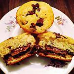recette Muffins Scandaleux aux cœurs Nutella®