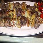 recette Brochette de rognon de porc charcutiére