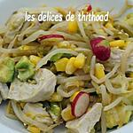 recette salade de dinde au gingembre