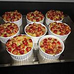 recette mini clafoutis aux guignes au lait d avoine