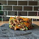 recette wok de lamelles de bœuf au sésame émincé de légumes d'été