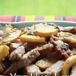 recette Filet de veau sauté