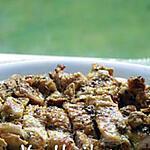 recette Cuisse de poulet grillé aux  fenugrec et  curcuma