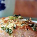 recette Saumon grillé à la sauce miso blanc \