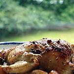 recette Coquelet jaune rôti aux sept -épices japonaises et à la sauge