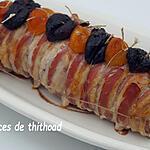 recette filet mignon de porc farci aux fruits secs