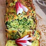 recette Cake ricotta fanes de radis et lardons