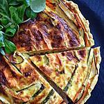 recette Tarte spirale aux carottes et courgettes