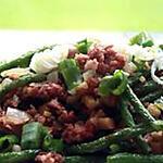 recette Haricot vert frit-sautés