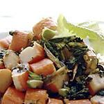 recette Surimi et salades sautées