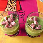 recette Mousseline de courgettes