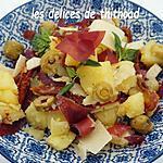 recette salade de pommes de terre aux saveurs d'Italie