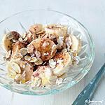 recette Petit déjeuner choco-banané