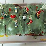 recette Gâteau fête des pères et euro de foot