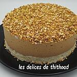 recette gâteau nuage praliné