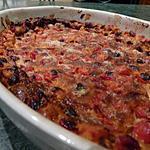 recette Clafoutis griottes-amande amère