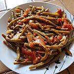 recette Haricots verts aux tomates à l'indienne