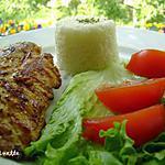 recette ~Poitrine de poulet césar grillées~