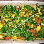 recette Fournée de pommes de terre aux légumes et merguez