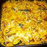 recette Gratin de filets de lieu noir aux courgettes