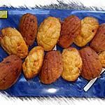 recette madeleines au chorizo